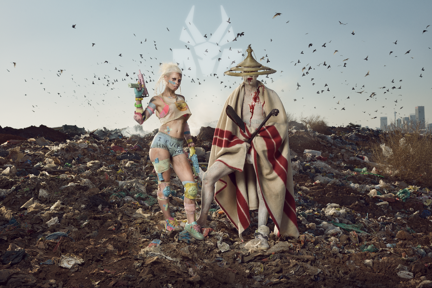 First announcement of Dour Festival 2017 : Die Antwoord