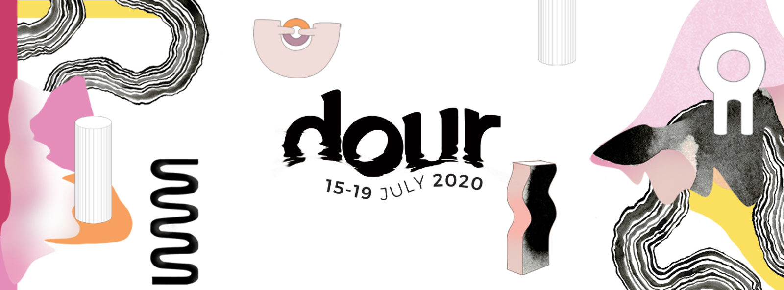 Dour Festival is back from the 15 to the 19 July, 2020 with a new graphic design and two brand new stages: La Chaufferie and Le Garage!