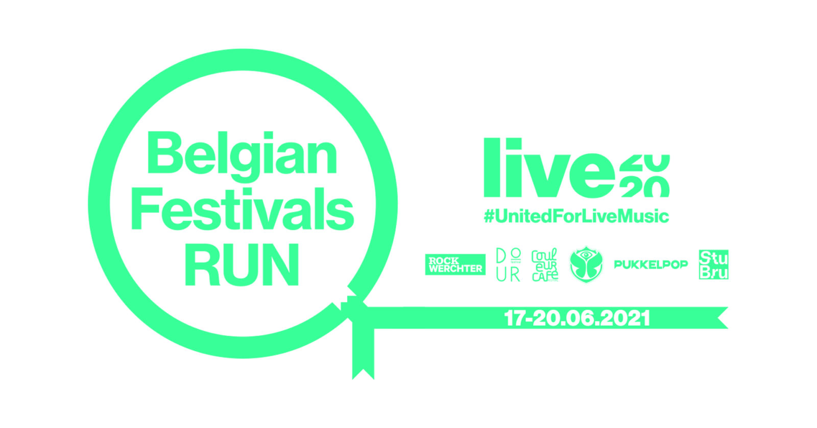 Virtually run through the history of 5 Belgian top festivals in benefit of support fund LIVE2020!
